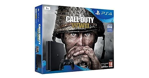 PlayStation 4 (PS4) - Consola De 1 TB + COD WWII: Amazon.es: Videojuegos