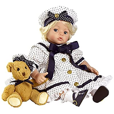 "Paradise Galleries American Cutie Toddler Doll, Chelsea, 20"" GentleTouch Vinyl"
