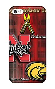 Alvadge Iphone 5/5s Well-designed Hard Case Cover Nebraska Football Android Protector