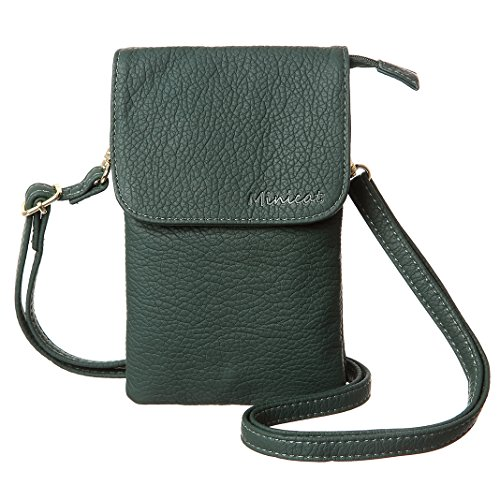 MINICAT Snythethic Leather Small Crossbody Bag Cell Phone Purse Wallet For ()