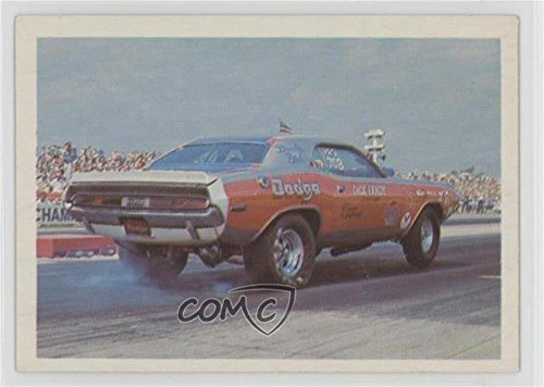 (Dick Landy's 1970 Challenger Super Stock (Trading Card) 1971 Fleer AHRA Drag Champs - [Base] #DILA)