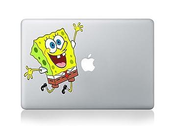 Amazoncom Spongebob Mac Sticker Skin Decal Vinyl Apple Macbook - Spongebob macbook decal