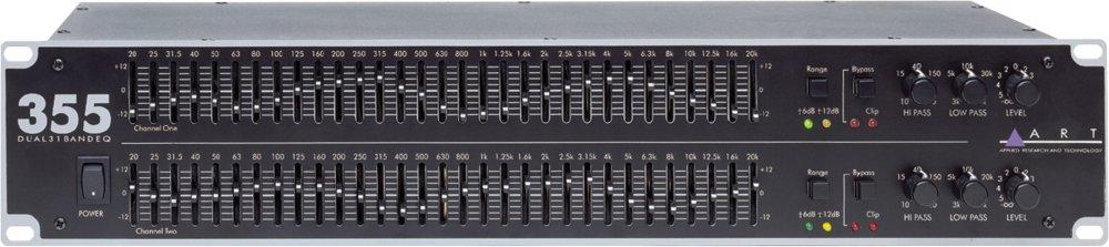 ART EQ355 Dual Channel 31-Band Equalizer