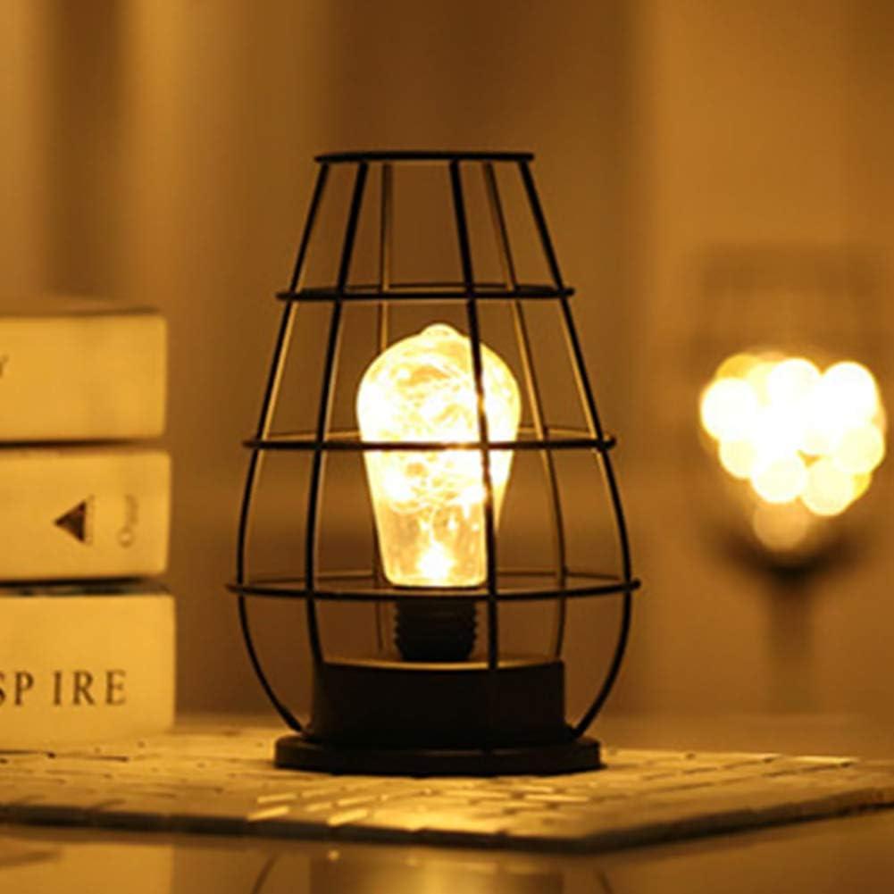 Lámpara de mesa con luz de noche para botella de vino, funciona ...