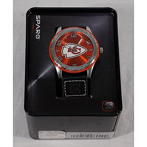Rico Industries NFL Kansas City Chiefs Watch, One Size, Team Color