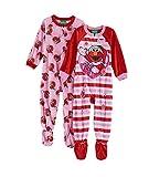 AME Elmo Fleece Footed Pajama Toddler Girls