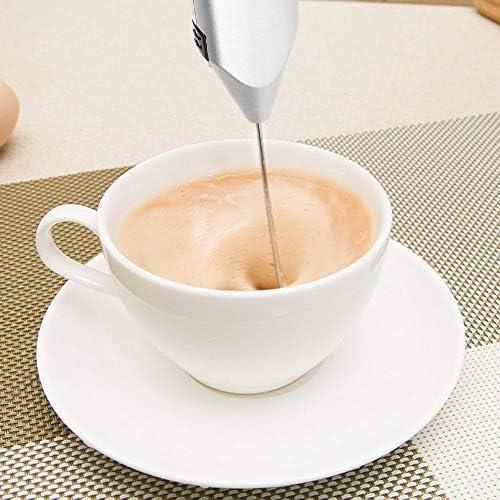 Pequeña batidora de mano eléctrica para batir huevos para hacer leche y café