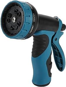 Ayybf Garden Hose Nozzle Heavy Duty, High Pressure 10 Adjustable Watering Patterns. Water Hose Nozzle Sprayer, Gun, Head. Spray Nozzle for Garden Hose, Nozzles for Garden, Lawn, Car Wash