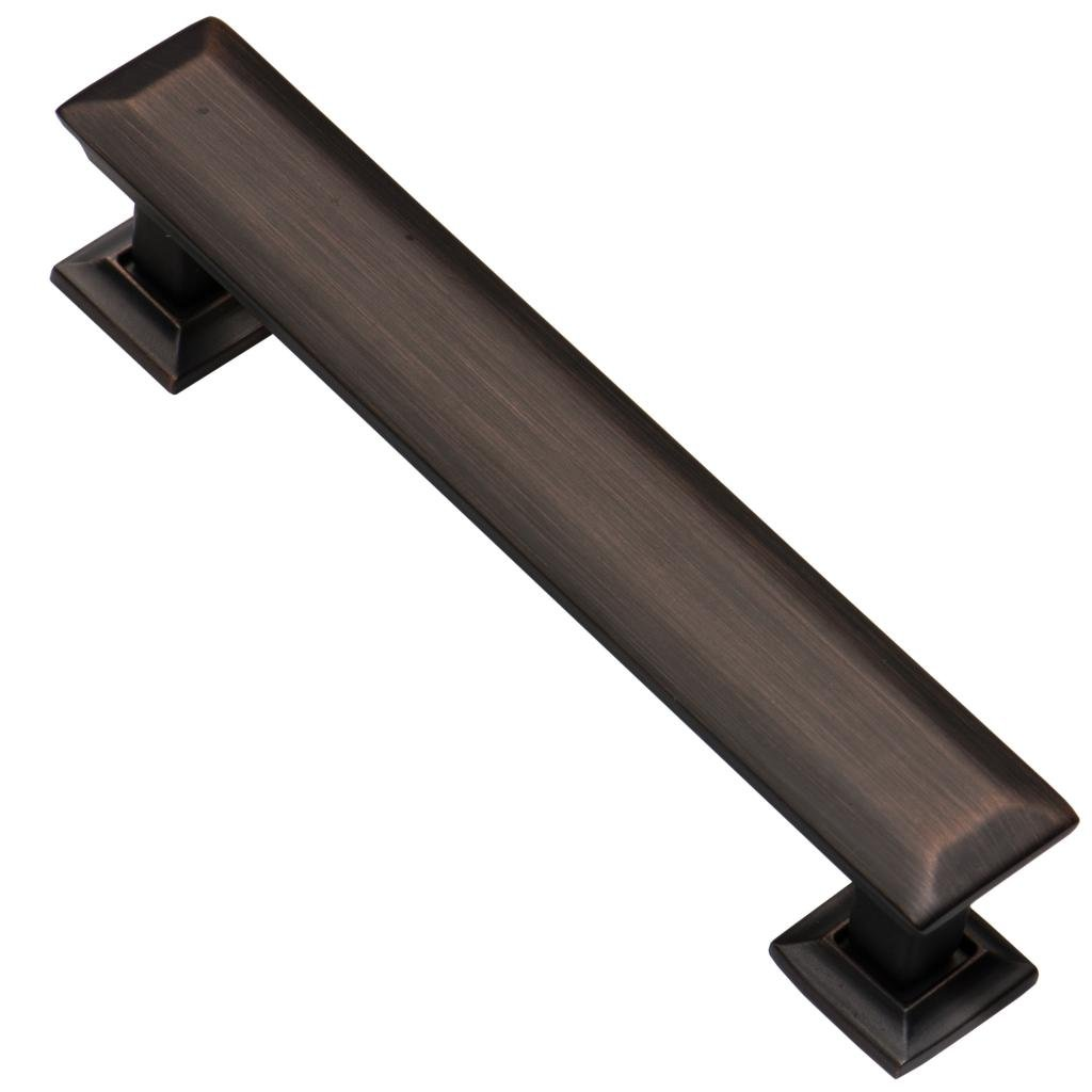 Southern Hills Oil Rubbed Bronze Cabinet Pulls , 4 Inch Screw Spacing, Pack of 25 Drawer Pulls