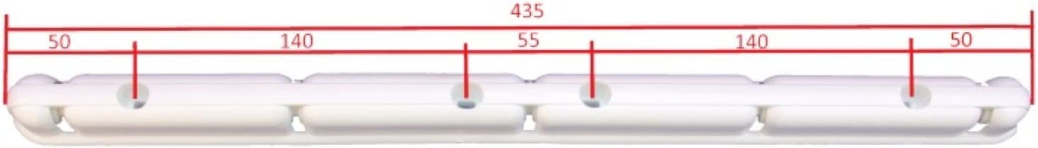 Deckentrockner 140 cm Wei/ß 6 Stab stahl /ø13 mm rundes Stange Nouveaut/é S/èche-Linge de Plafond Blanc 140 cm 6 Barres R/églables