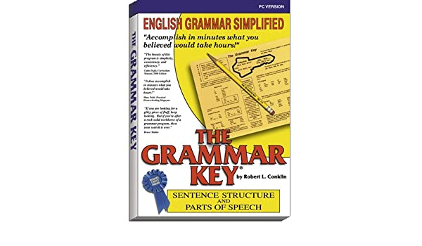 The Grammar Key Sentence Structure and Parts of Speech PC