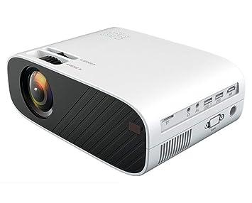 Sophia Proyector portátil, hogar HD 1080p proyector inalámbrico 4K ...