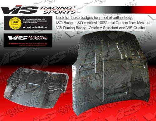 VIS 03-06 350Z/Fairlady Z Carbon Fiber Hood INVADER 3 ()