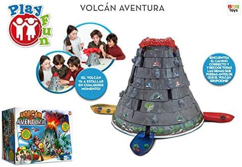 IMC Toys 96738IMIT Play Fun, Volcán Aventura, idioma Español: Amazon.es: Juguetes y juegos