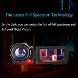 2017 Wifi Full Spectrum Camcorder, 1080P Full HD 30FPS Infrared Night Vision Paranormal Investigation Camcorder with Video Recorder 18X Digital Zoom - Ghost Hunting Camera (16GB SD Card Included)