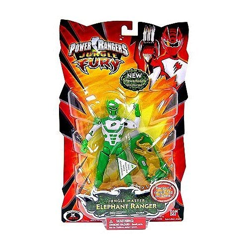 Power Rangers Jungle Fury Action Figure Jungle Master Elephant Ranger -