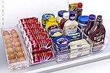 Sorbus Refrigerator and Freezer Storage Organizer Bins Stackable Pantry ...