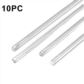 Feeilty 10 Pcs 1.6Mmx45Cm Baja Temperatura Aluminio Varillas para Soldar Soldadura De Rod No Hay Necesidad De Soldadura En Polvo: Amazon.es: Hogar