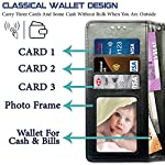 Pidgeot Leather flip Case Compatible with Realme 8 | Inside TPU with Card Pockets | Wallet Stand | Magnetic Closure…
