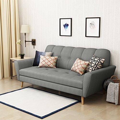 Christopher Knight Home 303690 Treston Sofa, Grey/Natural