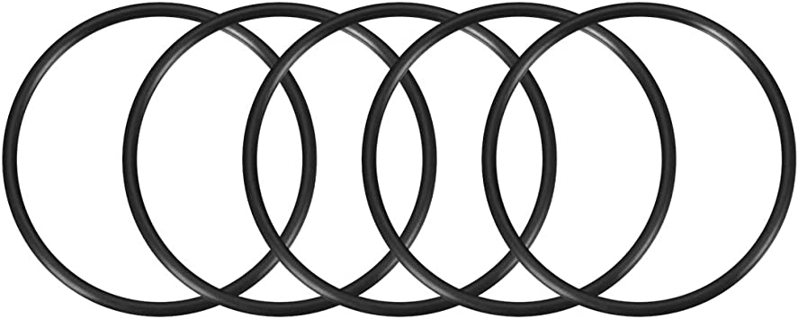 Pack of 100 5 ID Excellent Resistance to Oxygen Sur-Seal Inc. 5 ID 5-1//8 OD 5-1//8 OD Ozone and Sunlight Vinyl Methyl Silicone Sterling Seal ORSIL049x100 Number-049 Standard Silicone O-Ring 70 Durometer Hardness Pack of 100