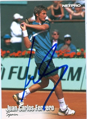 autograph-warehouse-58793-juan-carlos-ferrero-autographed-tennis-card-2003-netpro-no-30