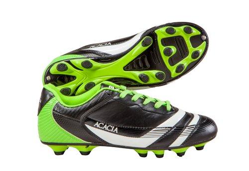 Zapatos De Fútbol Thunder De Acacia Negro / Lima
