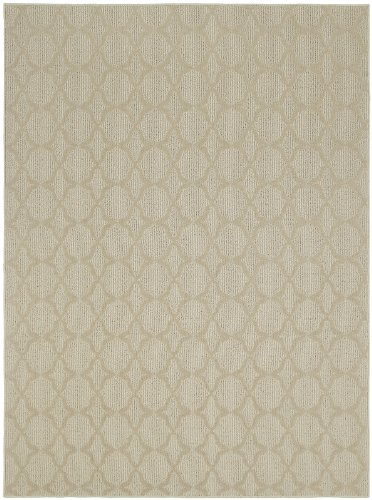 Garland Rug Sparta Area Rug, 7-Feet 6-Inch by 9-Feet 6-Inch, Tan ()