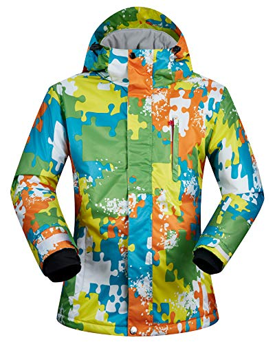 - Men's Ski Jacket Outdoor Waterproof Windproof Coat Snowboard Mountain Rain Jacket SJM015 Jigsaw Puzzle US M