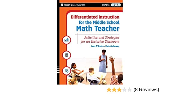Amazon Differentiated Instruction For The Middle School Math