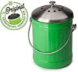 Premium Quality, Kitchen and Home Compost Bin, Eco - Best Reviews Guide