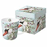 Paperproducts Design 'Iris and Stanley' Gift Boxed New Bone China Mug, 13.5 oz, Multicolor