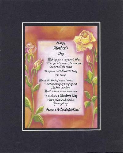 Amazoncom Poem For A Friend For Mother Day Happy