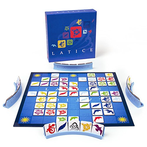 Latice Strategy Board Game - the Popular New Family Board Game for Kids and Adults, Challenging Fun for Everyone (Gift For 7 Year Old Boy 2015)