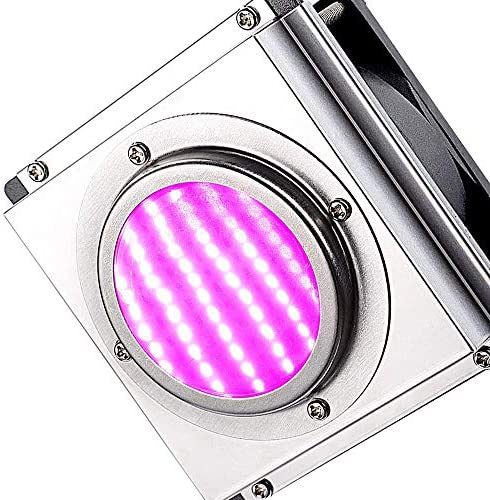 LED Grow Light, WAKYME COB Full Spectrum 300W Grow Lamp for Greenhouse Growing Light with Efficient Heat Dissipation, Waterproof Plant Light for Hydroponic Indoor Plant Growing