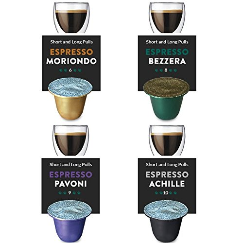 Tayst Coffee Roaster - ESPRESSO SAMPLERS - Nespresso Compatible Espresso Pods - Fresh, Delicious, Gourmet Coffee, an Aromatic Artisan Blend of the Highest Quality. (Sampler 20 Cups)