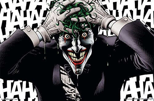 - Trends International Joker Crazy Wall Poster 22.375