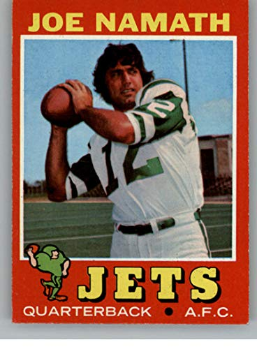 Football NFL 1971 Topps #250 Joe Namath EX-MT NY ()