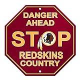 Fremont Die NFL Washington Redskins Stop Sign