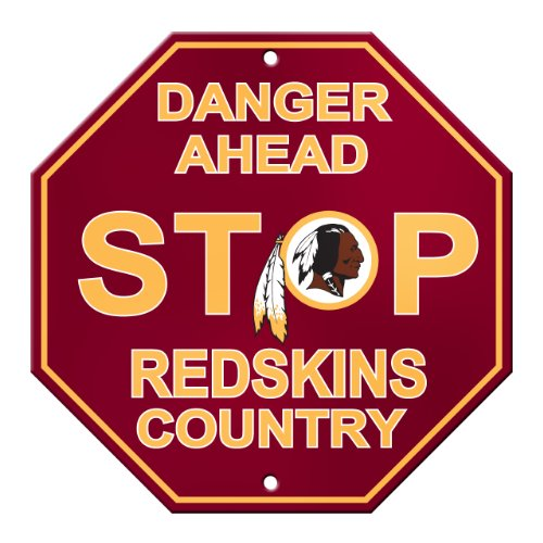 NFL Washington Redskins Stop Sign (Sign Redskins Washington)