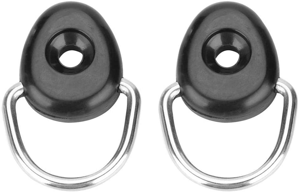 D Ring Tie Down for Boat Canoe Kayak Fishing Rigging Accessories Anchor Lashing Rings for Loads YHG Kayak D Rings Kayak Fishing Rigging D Rings with M6 Screws 10 PCS