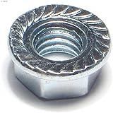 Hard-to-Find Fastener 014973242541 Hex Flange Nuts, 3/8-Inch, 100-Piece