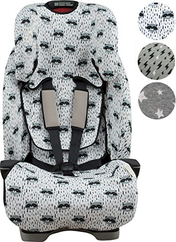 Graco Milestone Car Seat Protector Raccoon Town by Janabebé