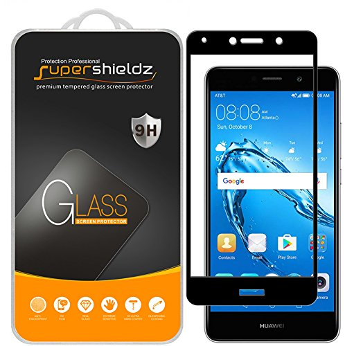 [2-Pack] Supershieldz for Huawei Ascend XT2 Tempered Glass Screen  Protector, [Full Screen Coverage] Anti-Scratch, Bubble Free, Lifetime  Replacement
