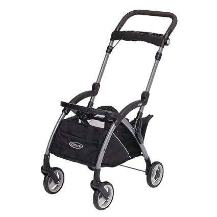 Graco Snugrider Elite Stroller and Car Seat Carrier, Black