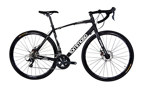 Tommaso Avventura – Shimano Sora Gravel Adventure Bike With Disc Brakes And Carbon Fork Perfect For Road Or Dirt Trail Touring, Matte Black – Extra Small Review