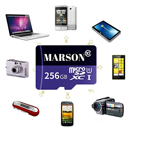 MARSON 256GB Micro SD Card High Speed Class 10 Micro SD SDXC Memory Card With Adapter by Marson (Image #3)