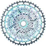 JGbike SROAD Lightweight 12 spee d Single Piece Cassette XD 10-50T for MTB Downhill Freeride Hardtail Bike, fo