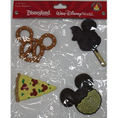 Disney Food Shaped Magnets Set of 4 - Disney Parks Exclusive & Limited Availability