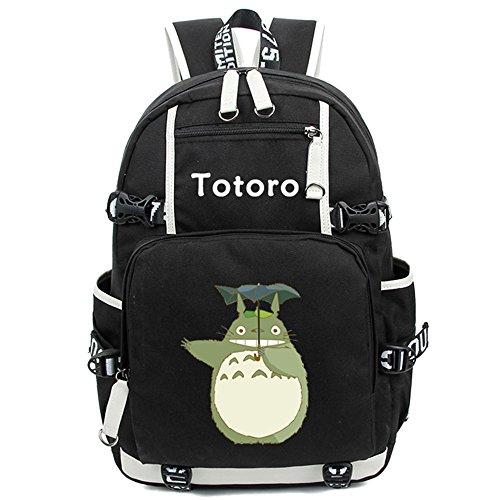 siawasey Japanische Anime Cosplay Laptop Schultasche Rucksack Schultertasche Schultasche My Neighbor Totoro 3 S9MH1sRN